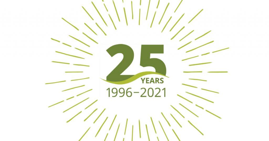 IAF 25 years graphic